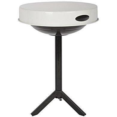 Esschert BBQ tafel wit 46,5x46,5x63cm