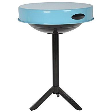 Esschert BBQ tafel blauw 46,5x46,5x63cm