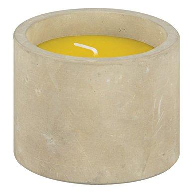 Esschert Citronella kaars beton 8,5x8,5x6,7cm