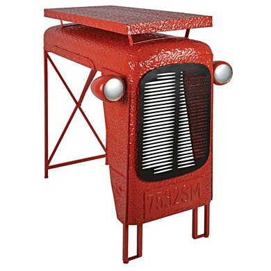 Esschert Traktortisch Rot 100x67x104cm