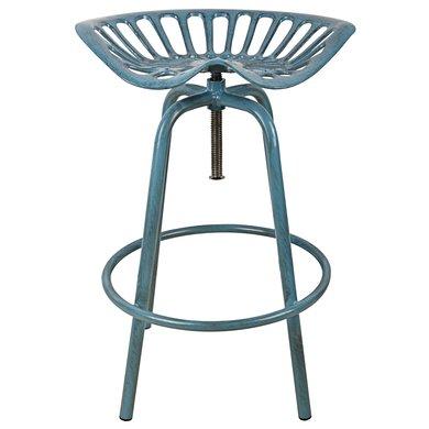 Esschert Tractor stoel blauw 50x46,5x69,7cm