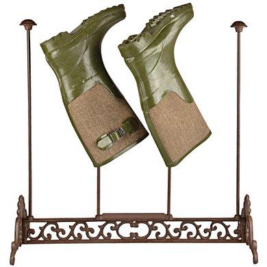 Esschert Gietijzeren laarzenrek 55x25,8x57cm