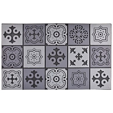 Esschert Deurmat mozaiek 76x45,5x1cm