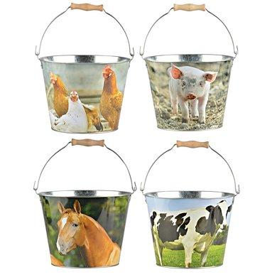 Esschert Emmer boerderijdieren ass.S 25,8x25,2x19,9cm 1st