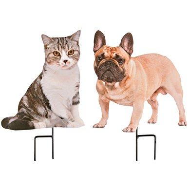 Esschert Tuinsteker huisdieren 19x0,8x26,2 / 17,7x0,8x27,2cm