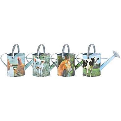 Esschert Zinken gieter boerderijdieren ass. 44,5x20,3x25,1cm