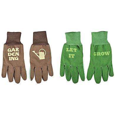 Esschert Handschoenen connecting tekst One Size