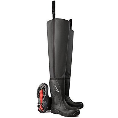 Dunlop C762043.TW lieslaars Purofort S5 Zwart