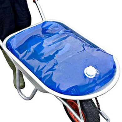 H2go Bag Waterzak voor Kruiwagen Blauw 80L