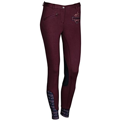 Harrys Horse Rijbroek Craven Prune Purple 164