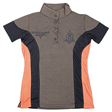 Harrys Horse Hippique Shirt Grijs 152