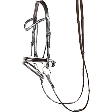 Harrys Horse Bridle Classic Round Brown