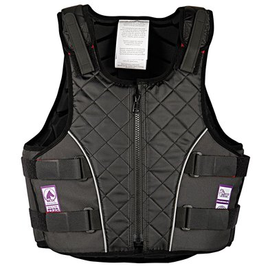 Harrys Horse Bodyprotector 4safe Senior Zwart