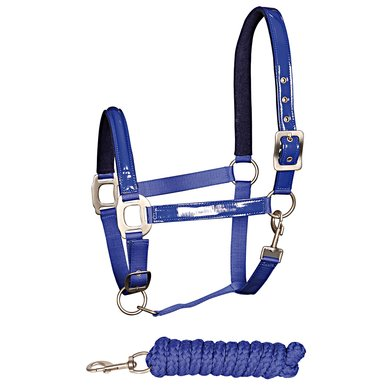 Harrys Horse Halsterset Fashion Navy pony
