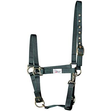 Harrys Horse Halster 3x Verstelbaar Olijf