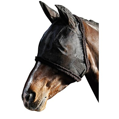 Harrys Horse Full Mesh Fly Mask Black