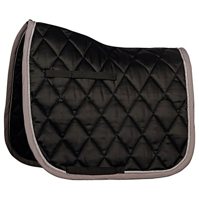 Harrys Horse Saddlepad Dressage Next Black Full Dr