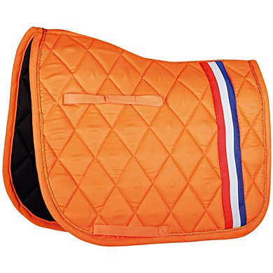 Harrys Horse Saddlepad Dressage Dutch Orange Full Dr