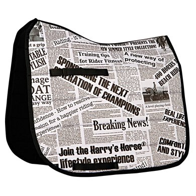 Harrys Horse Zadeldek Newspaper  Full dr
