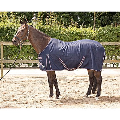 Harrys Horse Zomerdeken Cool & Dry Honeycomb Navy