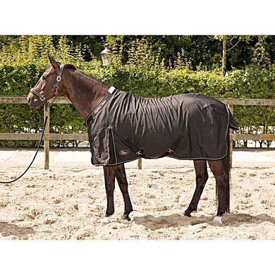 Harrys Horse Staldeken Highliner 0g Navy met iron accenten