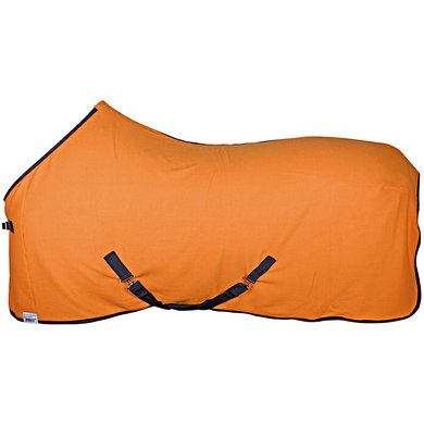 Harrys Horse Fleece Rug Colors Orange 135/185