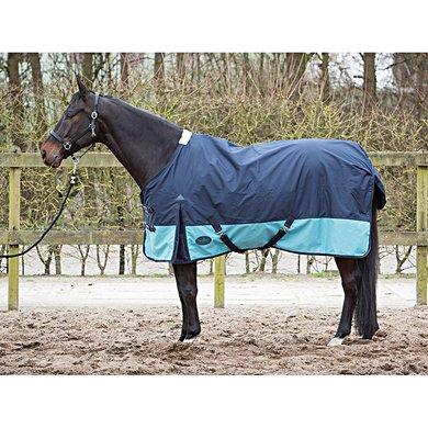Harrys Horse Regendeken Wodan fleece 0g Midnight Navy