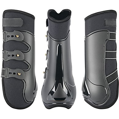 Harrys Horse Protection Boots Grand Prix Hind Black