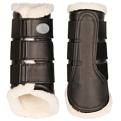 Harrys Horse Protection Boots Flextrainer Black