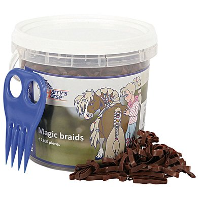Harrys Horse Magic Braids Pot Bruin