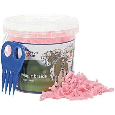 Harrys Horse Magic Braids Pot Roze