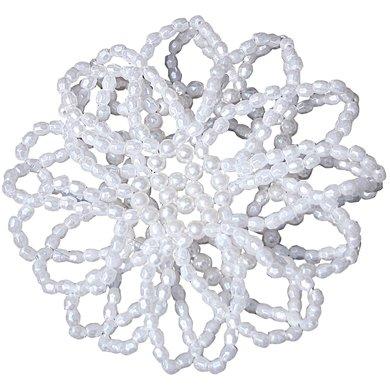 Harrys Horse Knotennetz Perle Weiß