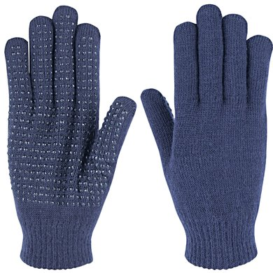 Harrys Horse Magic Gloves Navy Dames