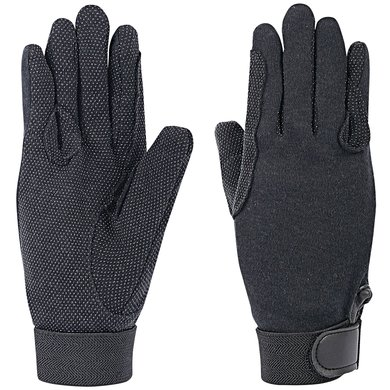 Harrys Horse Cotton Gloves Black