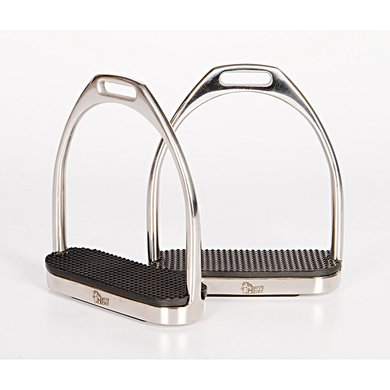Harrys Horse Fillis Stirrups Stainless Steel