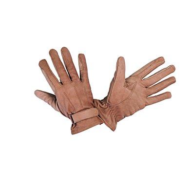 HKM Western Leren Handschoen van Nappaleder Beige