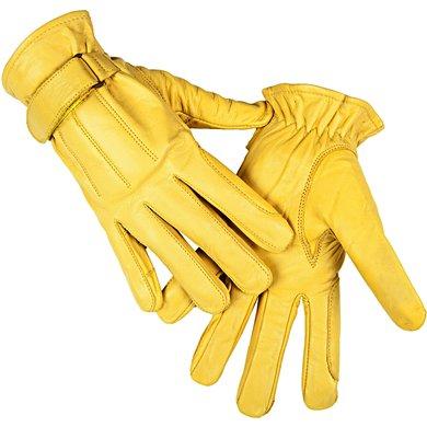 HKM Western Leren Handschoen van Nappaleder Geel