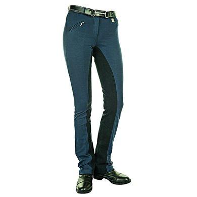 HKM Jodhpur Rijbroek Comfort Fit Alos Zitvlak D-Blauw 19