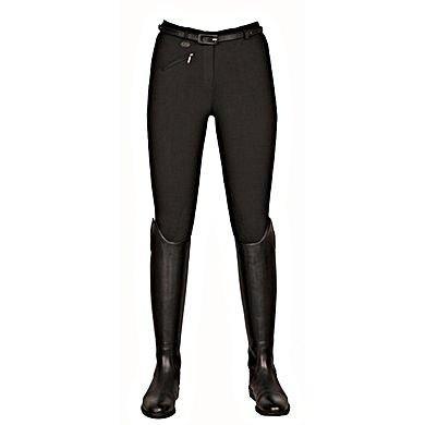 Hkm Rijbroek Penny Easy Met Softline Knievlak Zwart/zwart 34