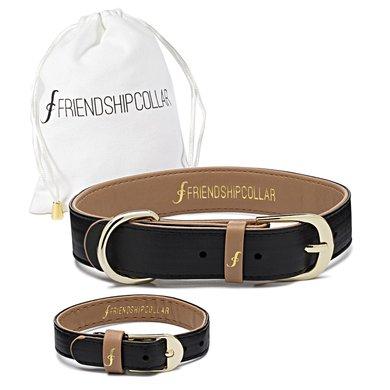 FriendshipCollar Classic Pup Jet Black XS