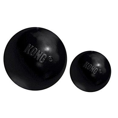 Kong X-treme Rubber Bal Zwart