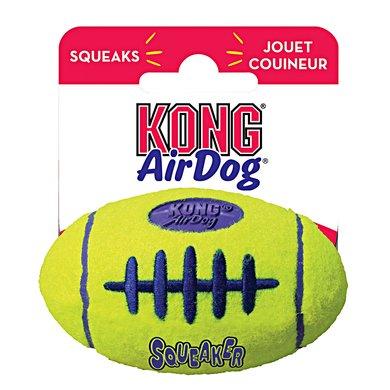 Kong Air Squeaker Football Geel