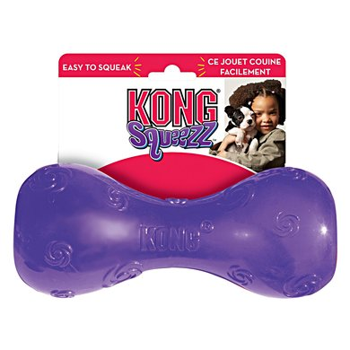 Kong Squeezz Dumbbell Large 20cm