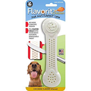 Pet Qwerks Flavorit Nylon Chicken Bone
