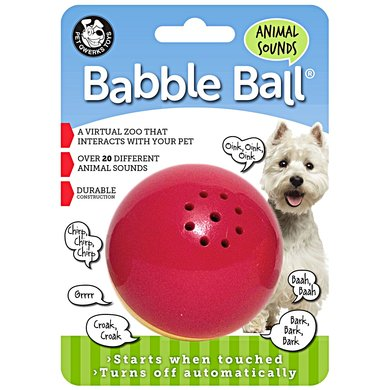 Pet Qwerks Animal Sounds Babble Ball Medium