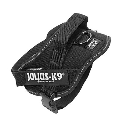 Julius-K9 Idc Powerharness Zwart