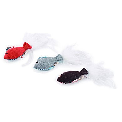 AFP Vintage Cat Feather Fish