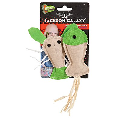 Jackson Galaxy Marinater Toy Fish/lobster 2pk