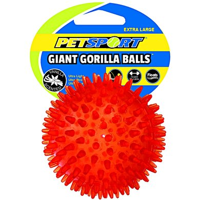 Gorilla Ball Giant Oranje XL 12,5cm