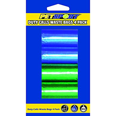 Duty Calls Waste Bag 4-pack